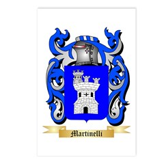 Martinelli Postcards (Package of 8)