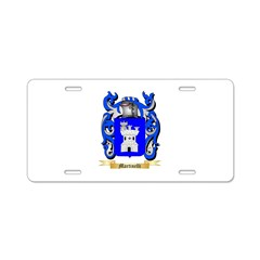 Martinelli Aluminum License Plate