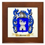 Martine Framed Tile