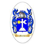 Martin Sticker (Oval 50 pk)