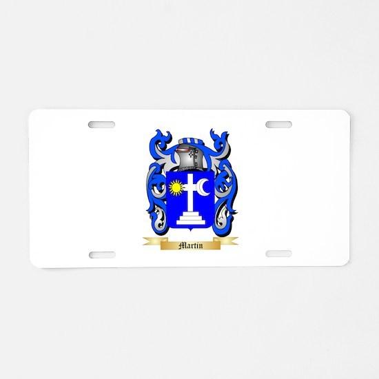 Martin Aluminum License Plate