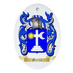 Martin Oval Ornament