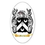 Martin 3 Sticker (Oval 10 pk)