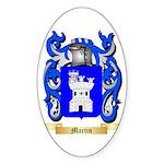 Martin (Spain) Sticker (Oval 10 pk)