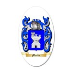 Martin (Spain) 20x12 Oval Wall Decal