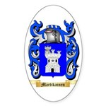Martikainen Sticker (Oval 50 pk)