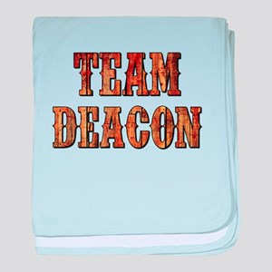 TEAM DEACON baby blanket