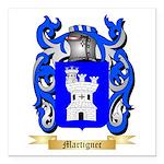 Martignec Square Car Magnet 3
