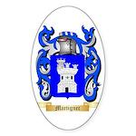 Martignec Sticker (Oval 50 pk)