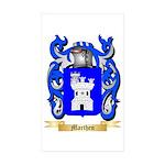 Marthen Sticker (Rectangle 50 pk)