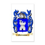 Martensson 35x21 Wall Decal