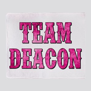 TEAM DEACON Throw Blanket