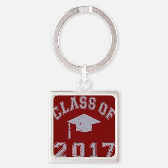 Cute Diploma Square Keychain