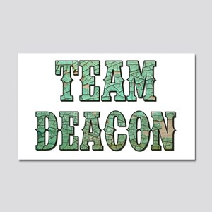 TEAM DEACON Car Magnet 20 x 12