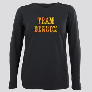 TEAM DEACON Plus Size Long Sleeve Tee