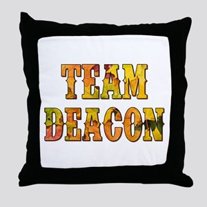 TEAM DEACON Throw Pillow