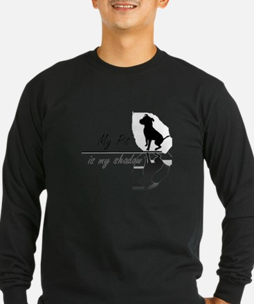 Funny American pit bull terrier T