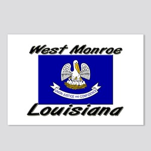 West Monroe Louisiana Postcards (Package of 8)