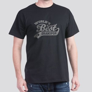 World's Best Grandpop Dark T-Shirt