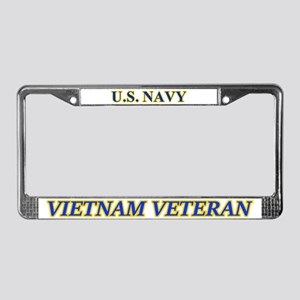 Us Navy Vietnam Veteran License Plate Frame