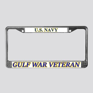 Us Navy Gulf War Veteran License Plate Frame