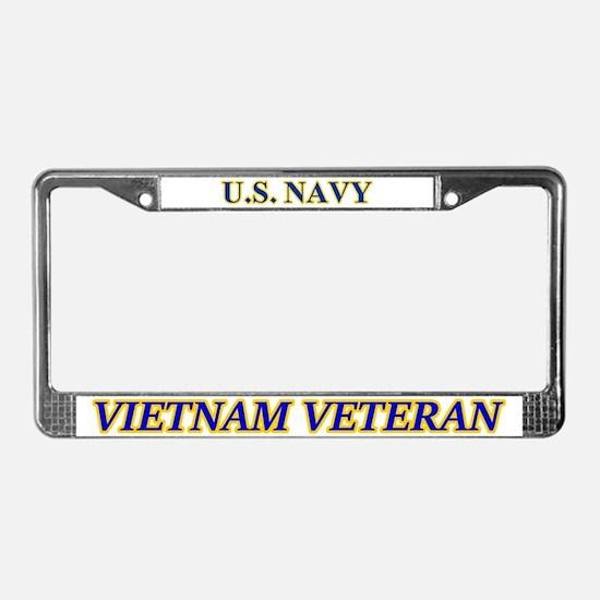 Us Navy Vietnam Veteran License Plate Frame