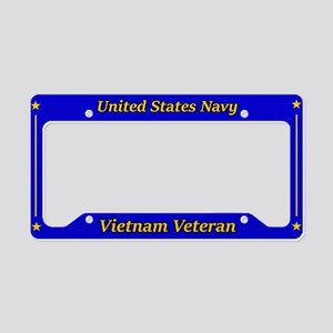 Us Navy Vietnam Veteran License Plate Holder