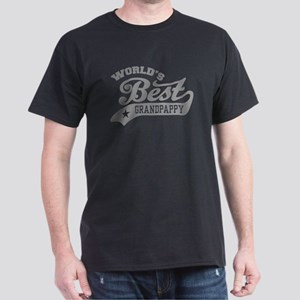 World's Best Grandpappy Dark T-Shirt