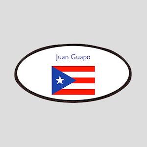 Juan Custom Puerto Rican Flag Boricua Patch