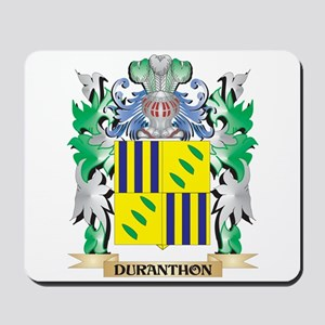 Duranthon Coat of Arms (Family Crest) Mousepad