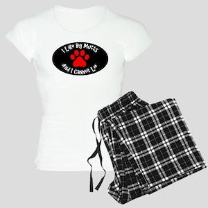 I like big mutts and I cann Women's Light Pajamas