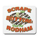 Scrape Bottom anti-Hillary Mousepad
