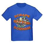 Scrape Bottom anti-Hillary Kids Dark T-Shirt