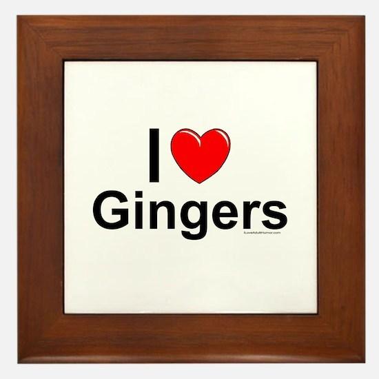 Gingers Framed Tile