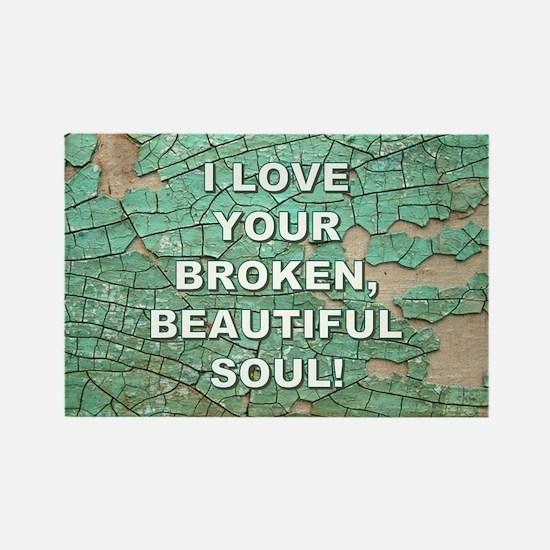 BEAUTIFUL SOUL Magnets