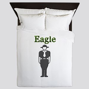 Eagle Scout Queen Duvet