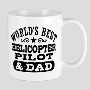 Helicopter Pilot and Dad Mug