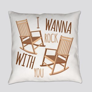 Rock With You Everyday Pillow
