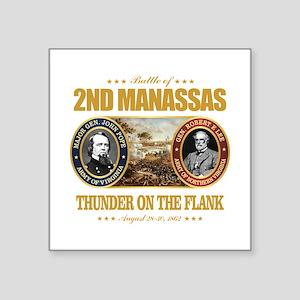 "2nd Manassas (FH2) Square Sticker 3"" x 3"""