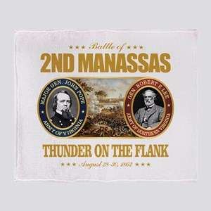 2nd Manassas (FH2) Throw Blanket