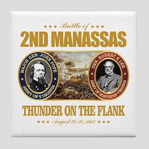 2nd Manassas (FH2) Tile Coaster