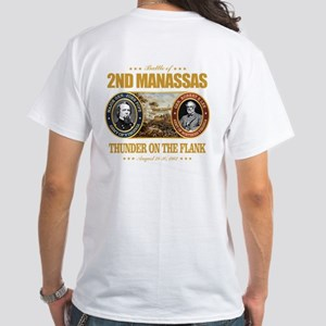 2nd Manassas (FH2) White T-Shirt