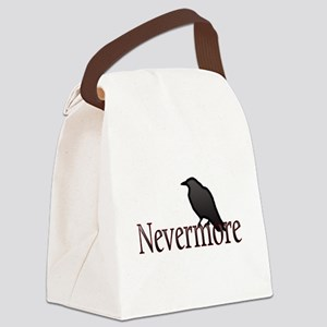 Nevermore Canvas Lunch Bag
