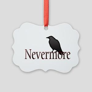 Nevermore Picture Ornament
