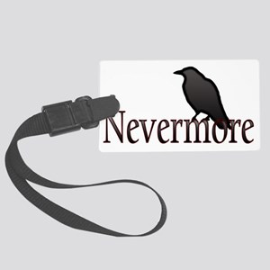 Nevermore Large Luggage Tag