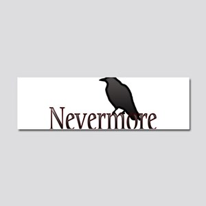 Nevermore Car Magnet 10 x 3