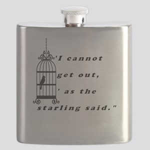 Mansfield Park Quote Flask