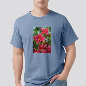 Christmas Red Daylilies T-Shirt