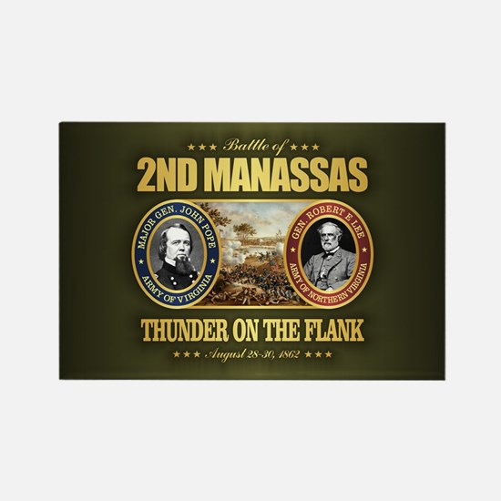 2nd Manassas (FH2) Rectangle Magnet