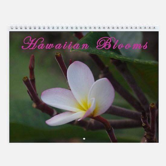 Hawaiian Blooms Vol 3 Wall Calendar